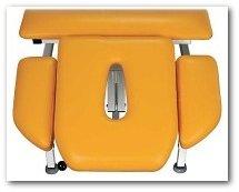 Połączenie solidnej konstrukcji z wysoką jakością wykonania w stole do masażu SR-3h