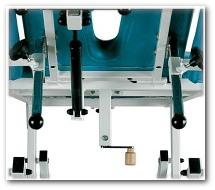 Solidna konstrukcja stołu do masażu SM-2 wykonana ze stali