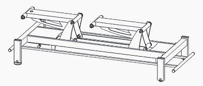Stół do masażu Terapeuta LUX-7 M-F0.S7 - system jezdny