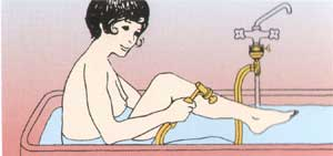 Masażer Aquavibron - masaż relaksujący