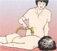 Masażer Aguavibron - masaż całego kręgosłupa leżąc