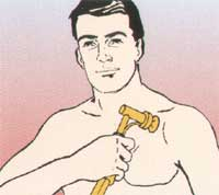 Masażer Aguavibron - masaż klatki piersiowej