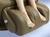 Fotel masujący HT 270 - masaż stóp