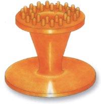 Membrana gumowa Aquavibron - grzebień dwurzędny