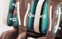Masaż łydek - fotel Europa III