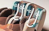Masaż stóp - fotel Europa III