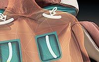 Masaż obręczy barkowej - Fotel Europa III