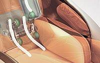 Masaż odcinka lędźwiowego - fotel Europa III