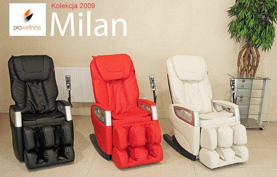 Fotel masujący Milan