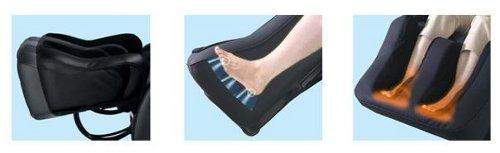 Fotel masujący Sanyo 7700 - masaż stóp