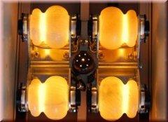 Wersja składana łóżka Syogra - 4 rolki nefrytowe