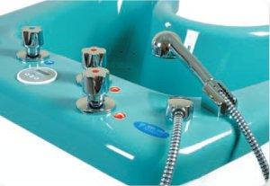 Urządzenie do masażu wirowego - pulpit sterowania