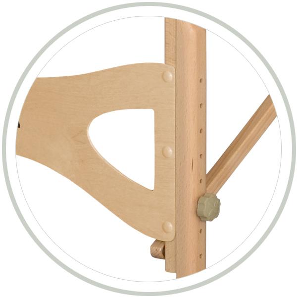 Stelaż drewniany buk naturalny Habys