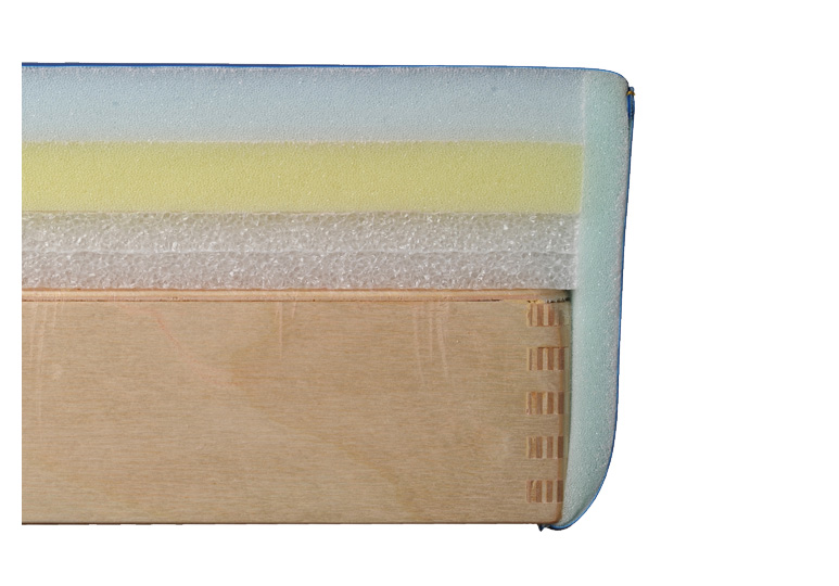 Pianka standardowa w stołach ultrakomfort Habys