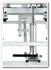 Regulacja hydrauliczna za pomocą dźwigni nożnych